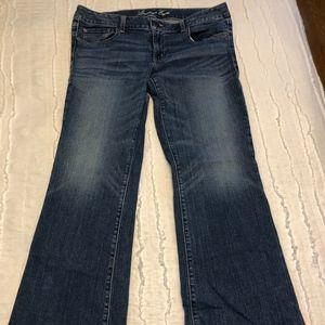 American Eagle, jeans, stretch, boyfriend, 12